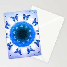 All things with wings (blue) Stationery Cards
