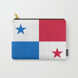 flag of panama-Panama,Panamanian,canal,spanish,San Miguelito,Tocumen,latine,central america,panameno Carry-All Pouch