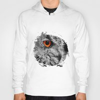 andreas preis Hoodies featuring ORANGE OF MY EYE by Catspaws