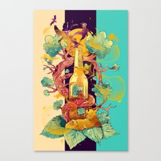 Natural Cycle Canvas Print