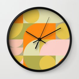 Summer Geometry 79 Wall Clock