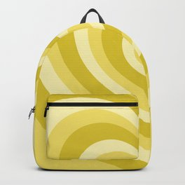 Yellow Hearts Backpack