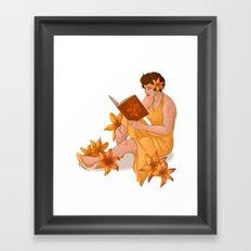 Orange Tiger Lilies Framed Art Print