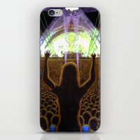 concert iPhone & iPod Skins featuring The Concert by Vargamari
