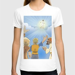 Jesus in the Clouds T-shirt