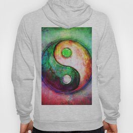 Yin Yang - Colorful Painting II Hoody