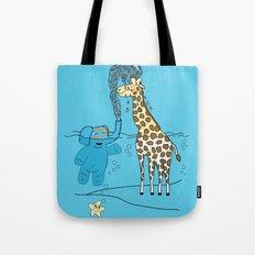Snorkeling Buddies Tote Bag