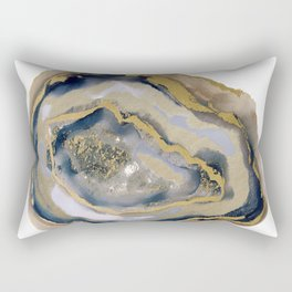 agate slice art, agate slice, agate art, geode art, geode print, modern art, contempora Rectangular Pillow