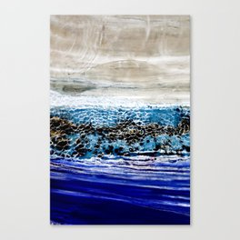 ...blurred line of horizons Canvas Print