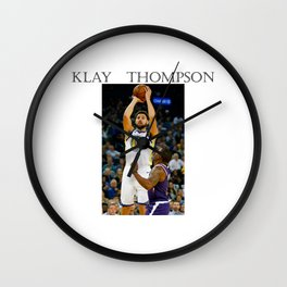 Klay Thompson Wall Clock