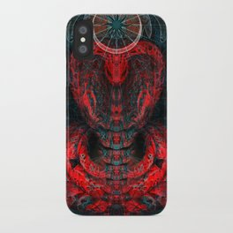 Seen Through Flames and Ashes iPhone Case