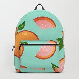 Citrus-Teal Backpack