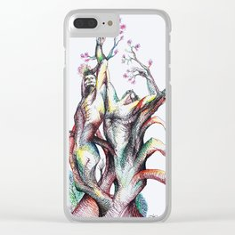 Holding you for Eternity Clear iPhone Case