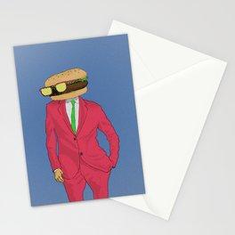 Burger Mr. Stationery Cards