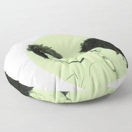 Pedro Almodovar and Penelope Cruz Floor Pillow