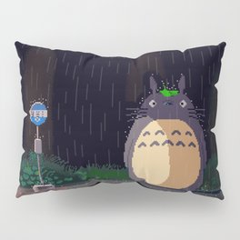 Waiting For The [cat]Bus Pillow Sham