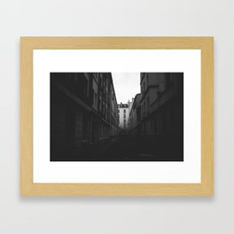 Alleys of Paris Framed Art Print