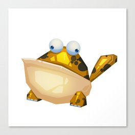 The Frog Monster Canvas Print