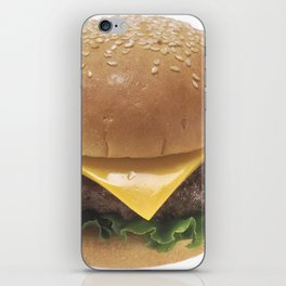 Cheeseburger iPhone Skin