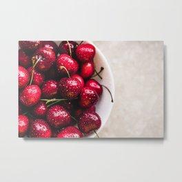 cherries Metal Print