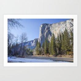 Yosemite, El Capitan Art Print