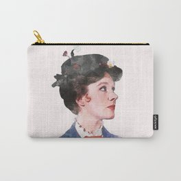 Mary Poppins - Watercolor Carry-All Pouch