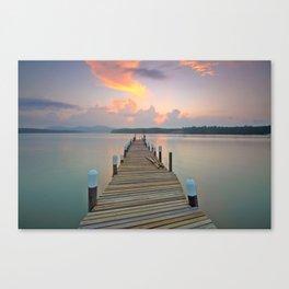 Dock Days Canvas Print