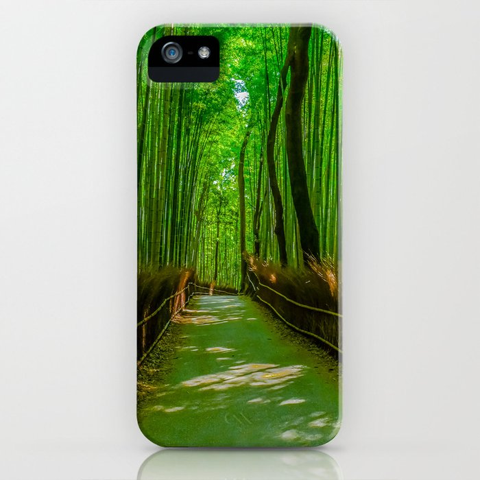 Bamboo Trail iPhone Case