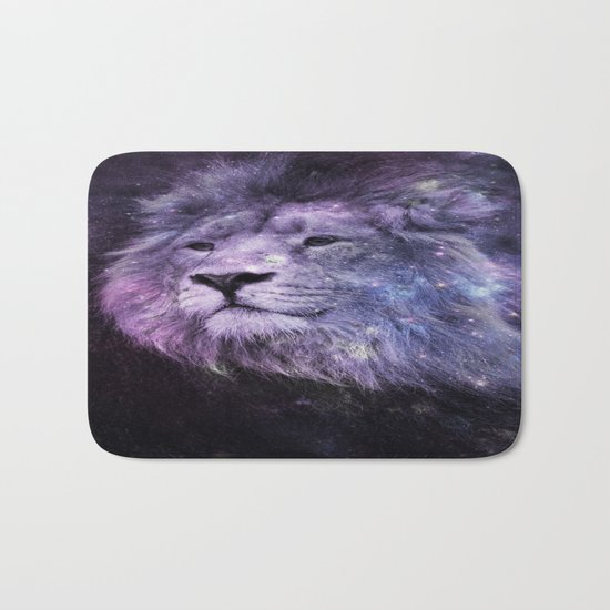 Galaxy Lion Leo Bath Mat