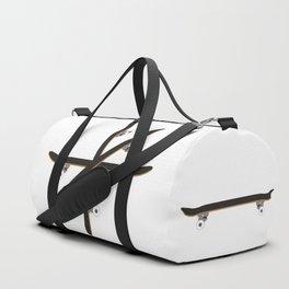 Skateboard Circle Illustration Duffle Bag
