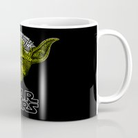 yoda Mugs featuring Yoda by Stormega