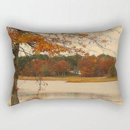 Lazy Days of Fall Rectangular Pillow