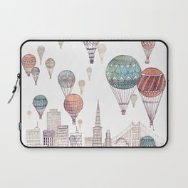 Voyages Over San Francisco ~ Refresh Laptop Sleeve