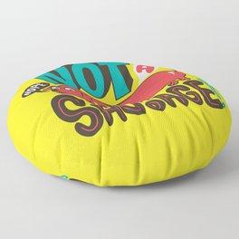 Not a Sausage Floor Pillow