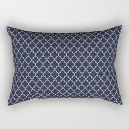 Minimalist Art Decó Geometric Oriental Lines Rectangular Pillow