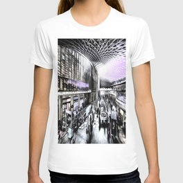 Kings Cross Station London Art T-shirt