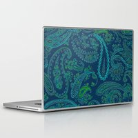 paisley Laptop & iPad Skins featuring  paisley  by Ariadne