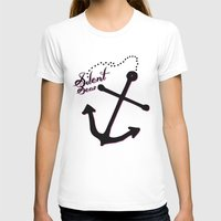 anchors T-shirts featuring Anchors Aweigh by Silent Seas