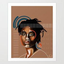 Ya mo Art Print