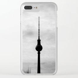 TV Tower Clear iPhone Case