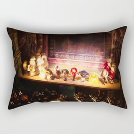Don Giovanni | Opera Classic Final Bow Old World National Theatre Production Rectangular Pillow