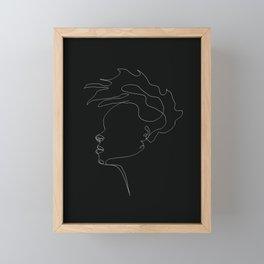 GirlonFire Framed Mini Art Print