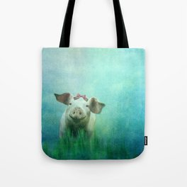 Lucky Pig Tote Bag