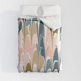 Zen Abstract Shapes Comforters
