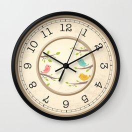 Horloge bird Wall Clock