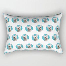 Pop Art Frenchie Rectangular Pillow