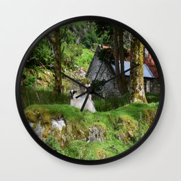 Olden Times Wall Clock