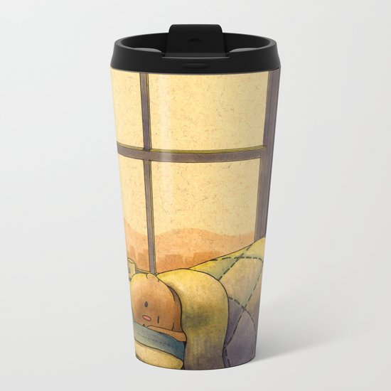 Nap Metal Travel Mug