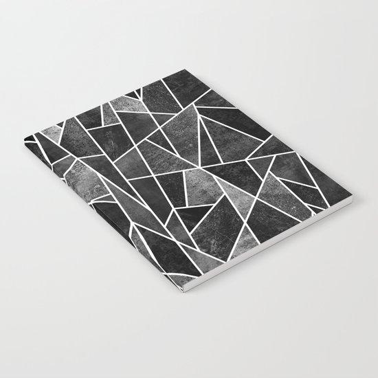 Shattered Black Notebook