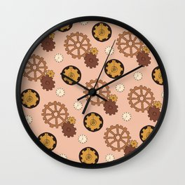 Nude Industrious Wall Clock